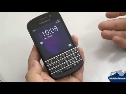 Обзор BlackBerry Q10