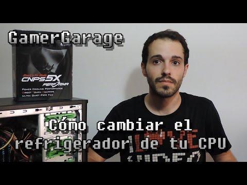 CÓMO CAMBIAR EL REFRIGERADOR / COOLER DE TU CPU AMD - ZALMAN CNPS 5X PERFORMA