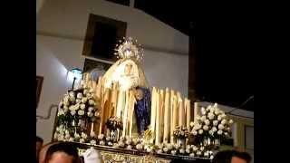 preview picture of video 'Encierro de la Virgen del Socorro Semana Santa Olvera 2014'
