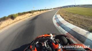 preview picture of video 'Speedshark Team entrenando en Karting Recas para el GP8 del CKRC 2012'