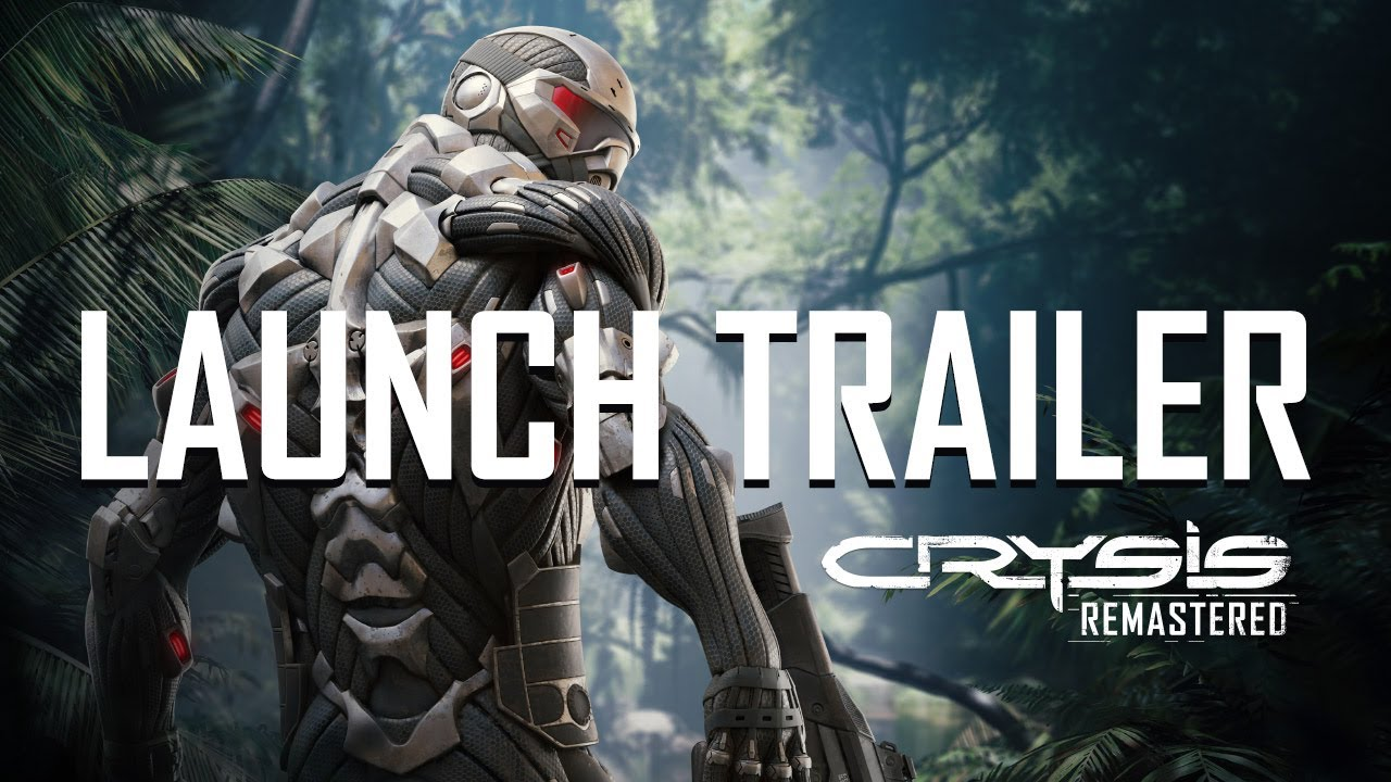 Crysis Remastered release trailer.