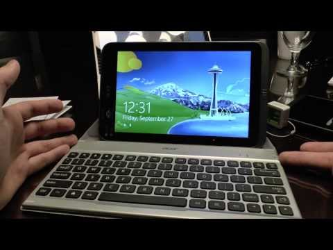 Acer Iconia W4-820 Hands On