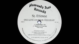 St. Etienne - Only Love Can Break Your Heart (MAW Dub) Heavenly Trax Records 1991