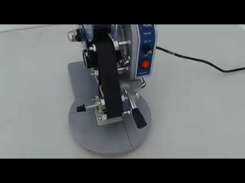 Maquina Impresora, Selladora De Códigos, Fechas, Lotes