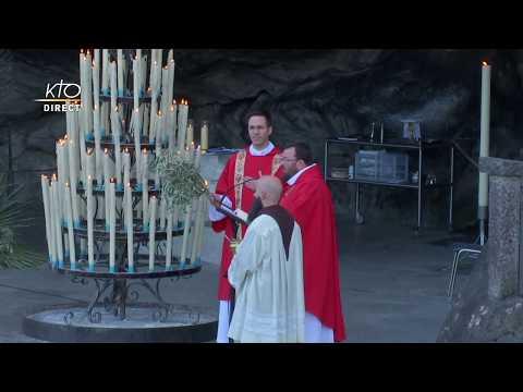 Messe des Rameaux à Lourdes