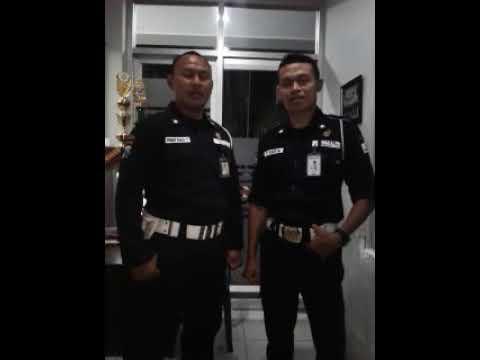 Satpam BRI Ngawi menolak berita hoax