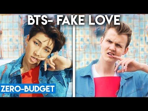 K-POP WITH ZERO BUDGET! (BTS- 'FAKE LOVE')