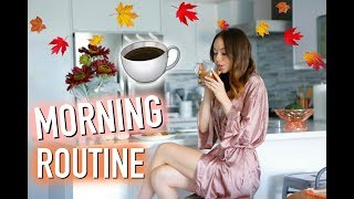Weekend Morning Routine | FALL 2017