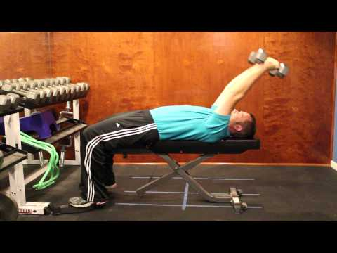 Dumbbell Pullover single arm