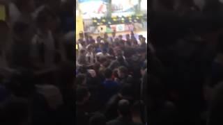 В Дагестане подрались болельщики.