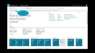 Microsoft Dynamics 365 Business Central: Order to Cash from Business Central