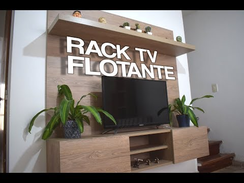 Rack de TV flotante
