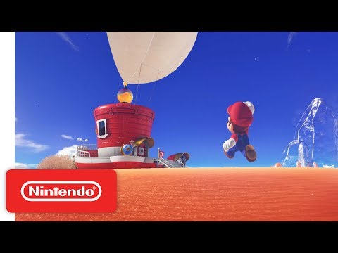 Super Mario Odyssey Trailer - Nintendo Switch thumbnail