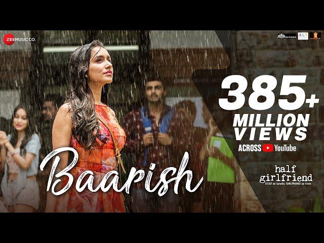 Baarish Full Video Song HD | Half Girlfriend Movie Songs | Arjun Kapoor, Shraddha