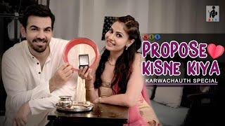 PROPOSE KISNE KIYA? | Karwachauth Special | Comedy | Entertainment