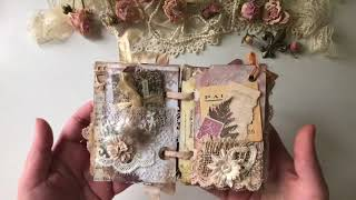 Tattered Shabby Chic Vintage Junk Book