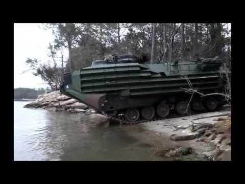 Insane Amphibian Tank Assault (INSANE RAW FOOTAGE!)