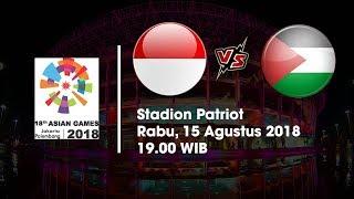 Live Streaming SCTV Asian Games 2018 Timnas U-23 Indonesia Vs Palestina Pukul 19.00 WIB