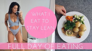 WHAT I EAT IN A DAY: FITNESS EDITION - HEALTHY FOOD TO STAY FIT & LEAN