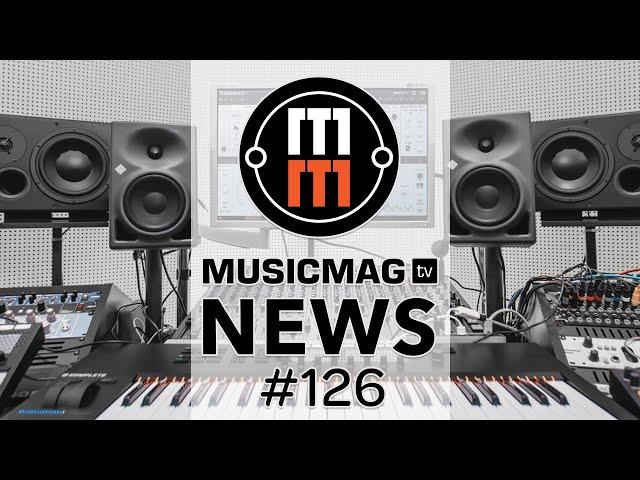 MUSICMAG TV NEWS #126: OP-Z и сэмплинг, «лазерный» синтезатор Radiator, NI Massive X и др.