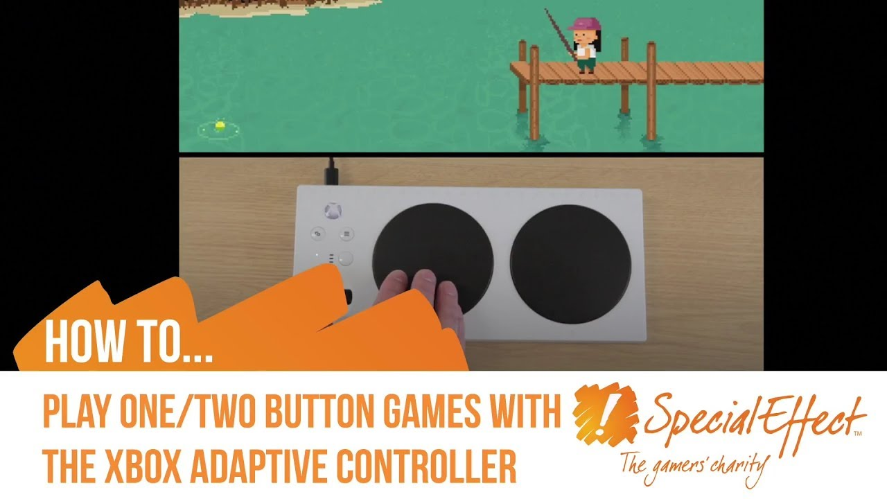 video placeholder for How to Play 1 & 2 Button Games with the Xbox Adaptive Controller