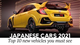 10 All-New Japanese Cars Going on Sale in 2021 (Rundown of Latest News)