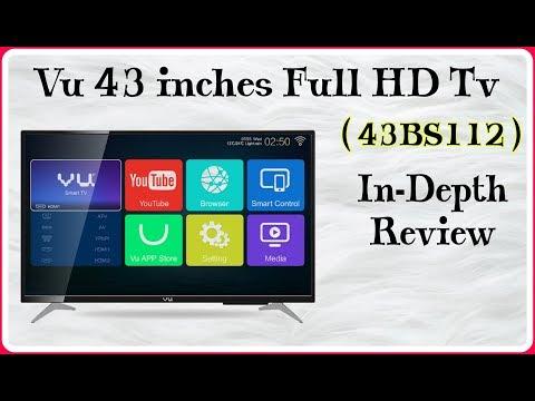 Vu 43 inch LED Smart TV 2017| Vu 43BS112|Review|Best Budget LED Smart TV|Full HD