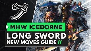 mhw iceborne longsword - TH-Clip