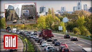 Stau in Frankfurt - Der Baustellen-Check mit Taxi