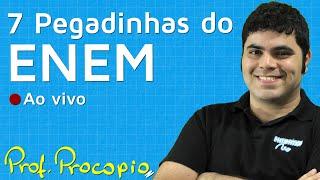 7 Pegadinhas do ENEM em Questões de Matemática | Prof. Rafael Procopio