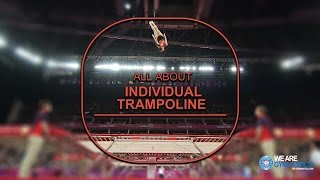All about Individual Trampoline - We are Gymnastics!
