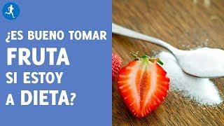 ¿Es bueno tomar fruta si estoy a dieta?