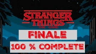 Stranger Things The Game: 100 % Complete, Unlocked ELEVEN
