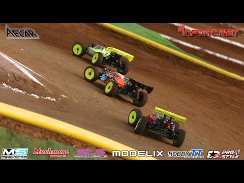 Campeonato de españa coches RC 1/8 TT Electrico - La Jara 2017 - Finales A