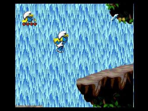Smurfs 2 Gameplay 8 (Sega Mega Drive)