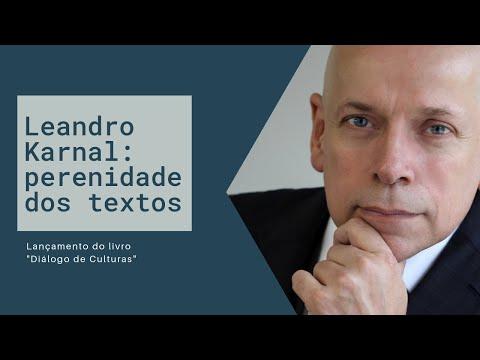 "Leandro Karnal: perenidade dos textos | Lançamento do livro ""Diálogo de Culturas""."