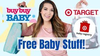 FREE BABY STUFF UNBOXINGS 2020 | Target Baby Registry Gift Bag & Buy Buy Baby Registry Freebie