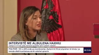 Intervistë: Albulena Haxhiu - Marrëveshja VV-LDK 23.01.2020
