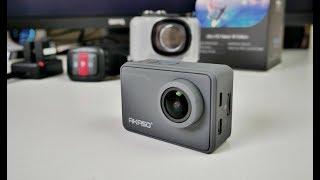 2018 AKASO V50 PRO Full Review - Native 4K Sports Camera - 20MP - EIS - H265 | Kholo.pk