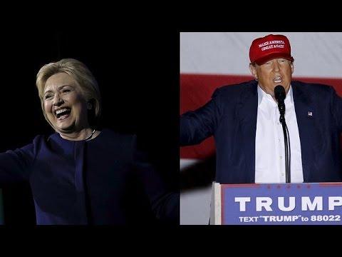ΗΠΑ: Κλίντον και Τραμπ ανταλλάσσουν πυρά