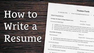 8 Tips for Writing a Winning Resume