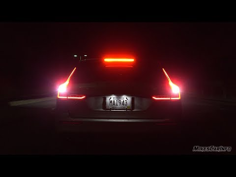 AT NIGHT: 2019 Volvo V60 Interior & Exterior Lighting Overview and Night Drive