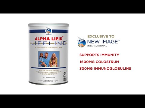 New Image International - Smoothie: Alpha Lipid Lifeline Product Video