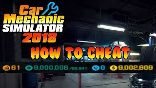 Car mechanic simulator 2018 money cheat engine