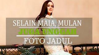 Maia Estianty Unggah Foto Lawasnya, Mulan Jameela Juga Upload Potret Jadul