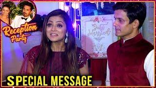 Drashti Dhami And Neeraj Khemka Special Message For Rubina Dilaik And Abhinav Shukla Wedding Life