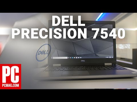 External Review Video u783zhuVunI for Dell Precision Mobile Workstations 5540, 7540, 7740 (My 2019)