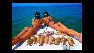 Фото девушек на рыбалке сзади