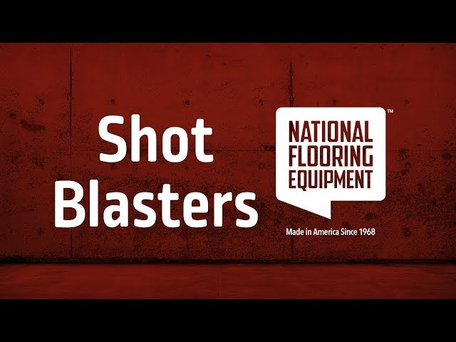Shot Blasters by National Flooring Equipment