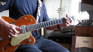 JOHNNY BURNETTE:TRAIN KEPT A-ROLLIN` GUITAR SOLO